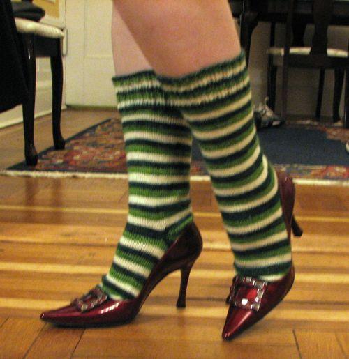 Socks on the move