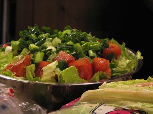 Giant salad