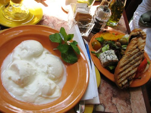 Greek breakfast at lalo