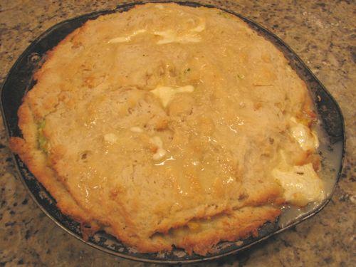 Southern corn pie
