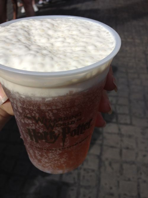 Butterbeer in a glass