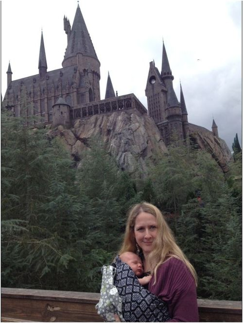 Hanging out at Hogwarts