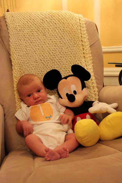 Roman Mickey 1 month