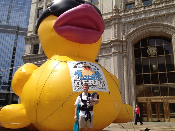 Things Are Just Ducky Here in Chicago!