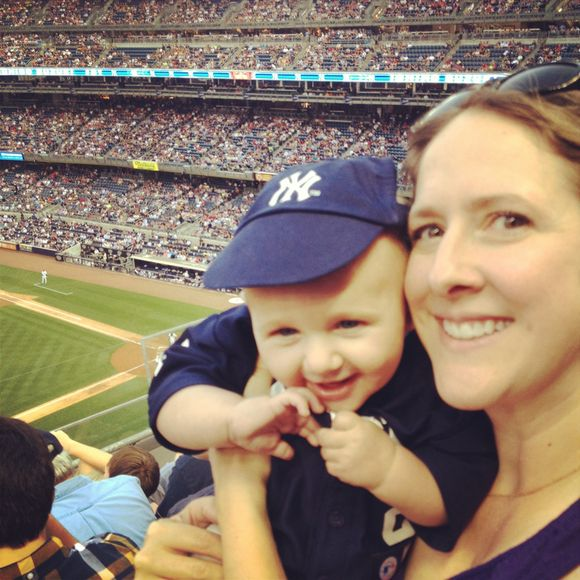 Baby's First Yankee's Game!