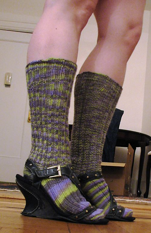 Look at those spooky socks