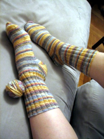 My_first_finished_socks